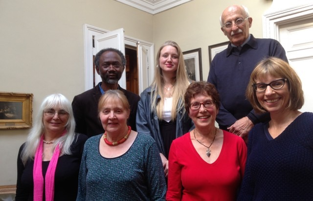Judges with commended poets in Open international awards